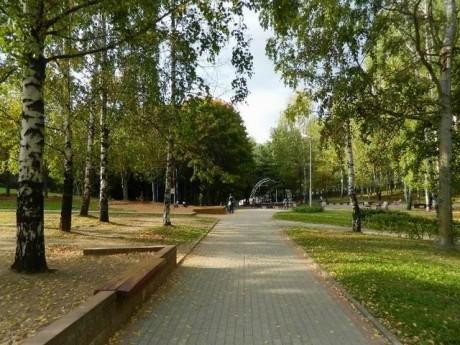 Парк 60-летия Октября  г. Минск  Беларусь