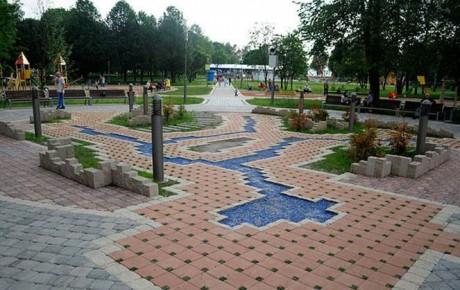 Парк им. 900-летия  г. Минск  Беларусь