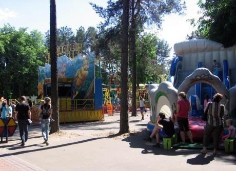 Парк Челюскинцев  г. Минск  Беларусь