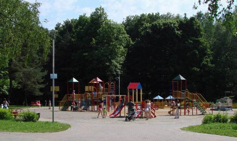 Игровая площадка для детей  BR Парк Челюскинцев  г. Минск  Беларусь