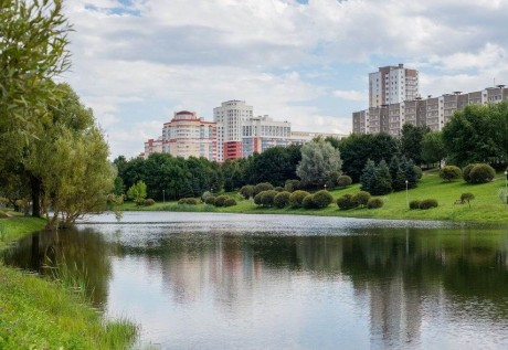 Парк им. Павлова на Юго-Западе BR г. Минск  Беларусь
