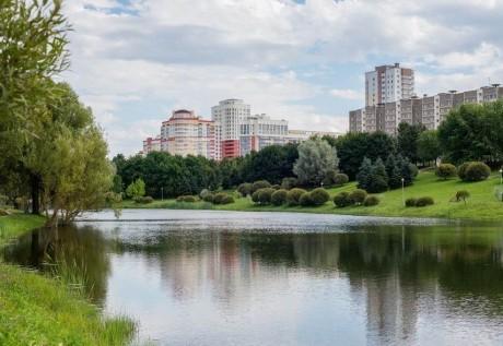 Парк им. Павлова на Юго-Западе  г. Минск  Беларусь
