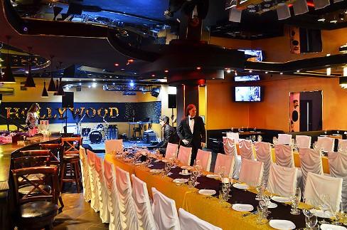 В ресторане вы можете праздновать BR Ресторан-клуб  Голливуд