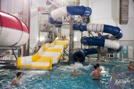 Аквапарк  BR Спортивно-развлекательный центр  г. Молодечно  Беларусь
