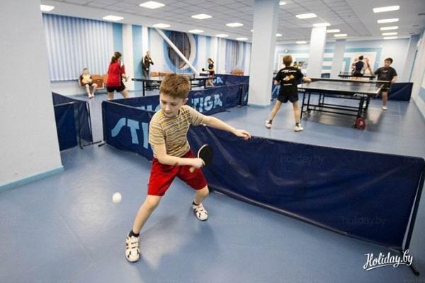 Зал настольного тенниса  BR Спортивно-развлекательный центр  г. Молодечно  Беларусь