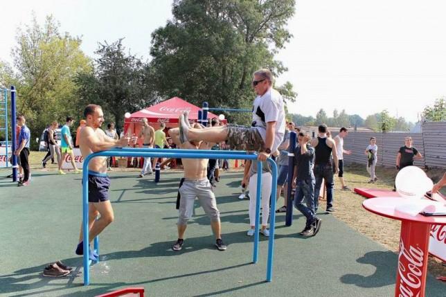 Спортивная площадка для занятий Street Workout  г. Несвиж  Беларусь