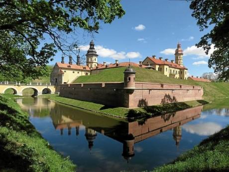 замок  Радзивиллов   г. Несвиж  Беларусь