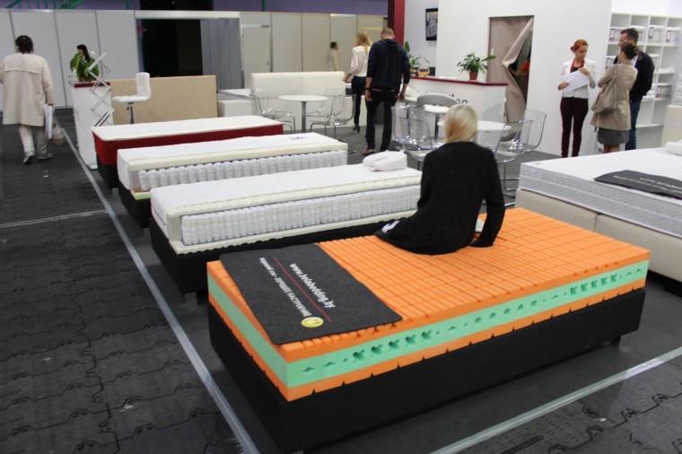 Кровати  Сладких снов   на выставке  Мебель - 2017  г. Минск  Футбольный Манеж  с 14 по 17 сентября 2016 года