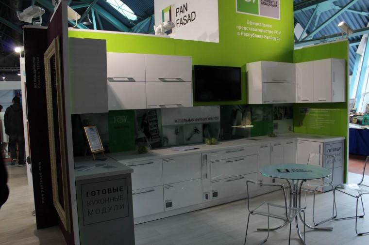 Кухня  на выставке  Мебель - 2017  г. Минск  Футбольный Манеж  с 14 по 17 сентября 2016 года