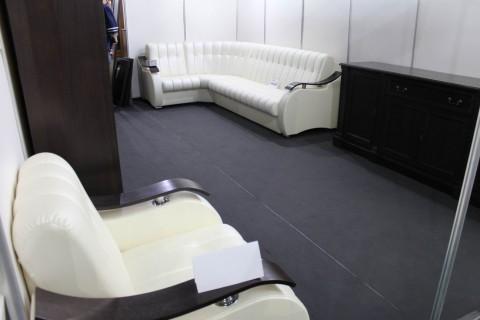 Диваны для зала  на выставке  Мебель - 2017  г. Минск  Футбольный Манеж  с 14 по 17 сентября 2016 года