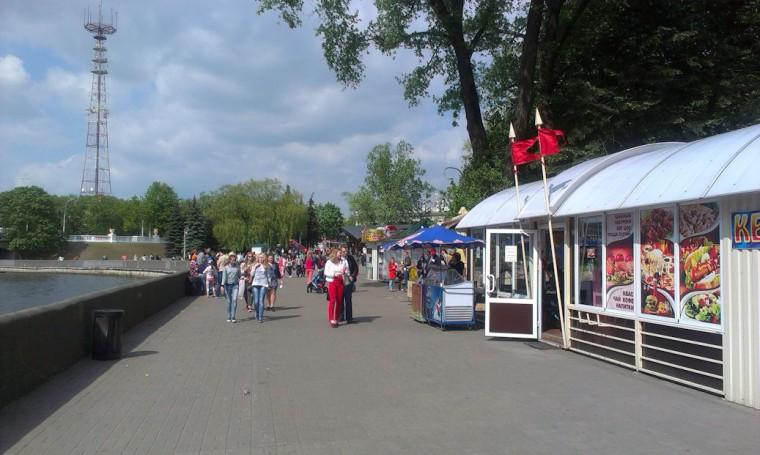 21 мая 2016 днем в парке Горького