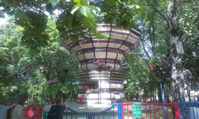 В парке Горького  г. Минск 28 мая 2016