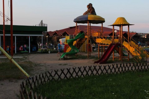 Горки  на  Детской площадке  в Минском Зоопарке  27 августа 2016   г. Минск  улица Ташкентская  40