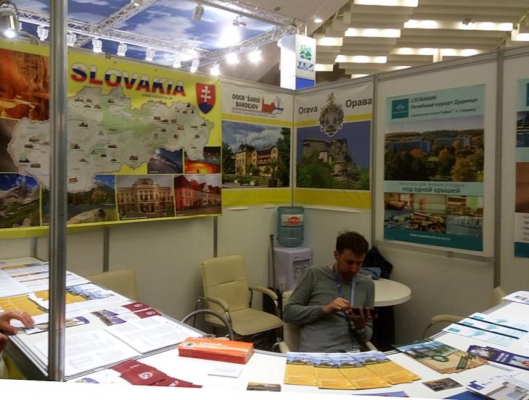 Словакия  на  туристической выставке  Отдых-2017   10 апреля 2017 Выставочный комплекс  БелЭкспо   Минск