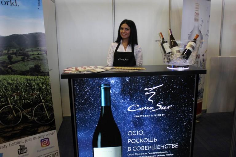 Вино на  фестивале еды и напитков  Фуд Шоу    4 декабря 2016  г. Минск  Дворец Спорта
