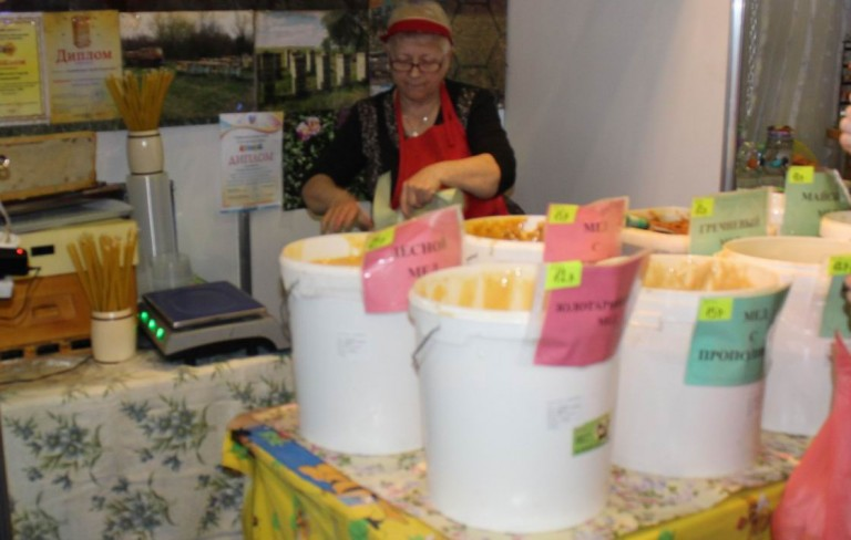 Мед на  фестивале еды и напитков  Фуд Шоу    4 декабря 2016  г. Минск  Дворец Спорта