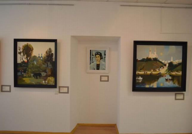 Выставка произведений Л.Д.Щемелёва