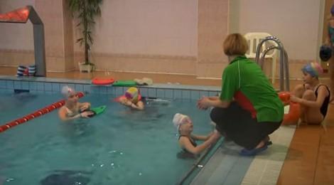 Обучение плаванию <BR>(детей и взрослых) <BR>(Дворец культуры железнодорожников , г. Минск , ул. Чкалова, 7)