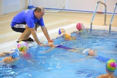 Лечебное плавание <BR>(набор в группы детей с нарушением формирования осанки) <BR>(Дворец водного спорта , г. Минск , ул. Сурганова, 2а)