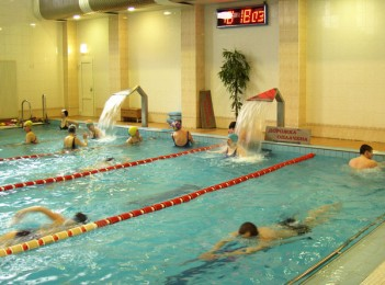 Плавание в бассейне <BR>(Дворец культуры железнодорожников , г. Минск , ул. Чкалова, 7)