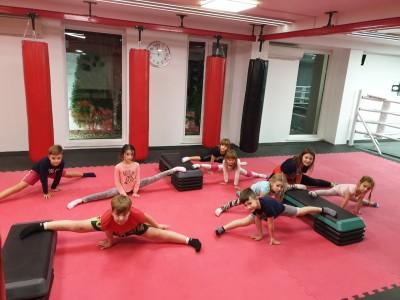 Бокс, тайский бокс, фитнес : total body, стретчинг, кикбоксинг