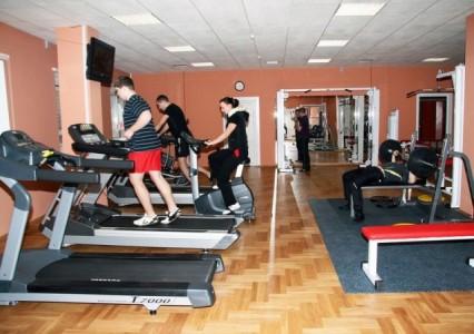 Занятия в тренажерном зале <BR>(Ледовый Дворец , г. Барановичи , проспект Советский, 20)