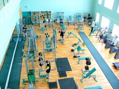 Занятия в тренажерном зале <BR>(Областной спортивный комплекс 'Брестский' , г. Брест , улица Гоголя, 9)