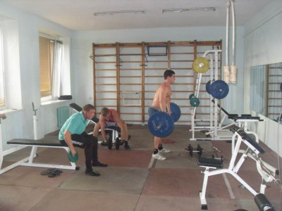 Занятия в тренажерном зале <BR>(Спортивный комплекс 'Гармония' , г. Речица , улица Советская, 38)