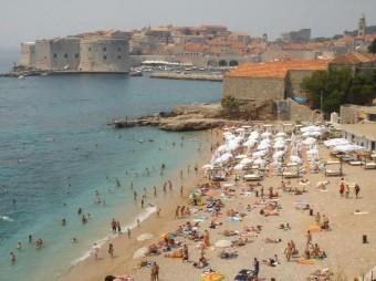 пляжи Дубровника
