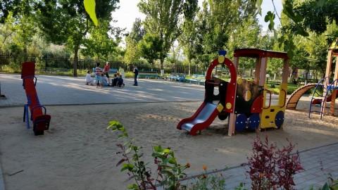Детская площадка  на базе отдыха  Рось   12 августа 2016  Затока  Одесская область  Украина