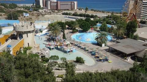 Аквапарк  Water Park  в городке Фалираки  остров Родос  Греция