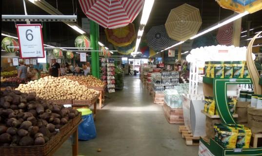 Супермаркет  Таврия B  возле Одессы   утро 8:18  12 июля 2017