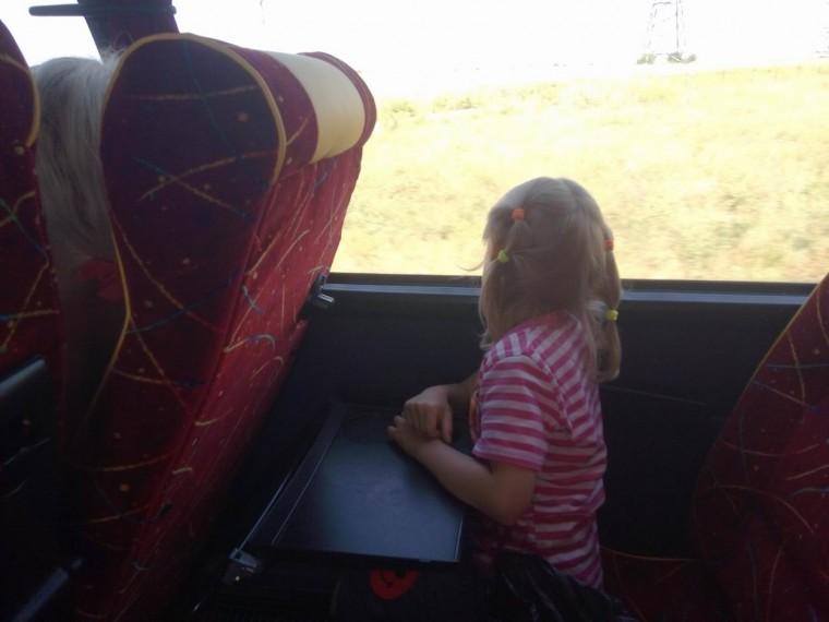 В автобусе  между Одессой и Затокой  утро 9:47  12 июля 2017