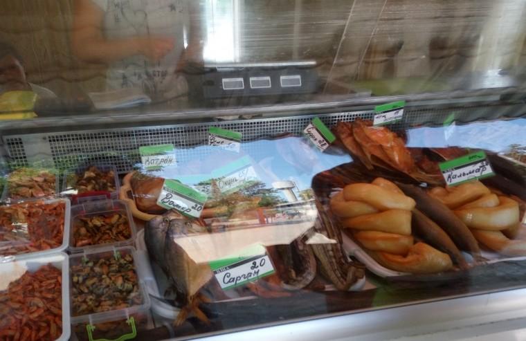 Купили кальмара в магазине  рядом с остановкой  Солнечная  поселок Затока  Украина  время 15:04  13 июля 2017
