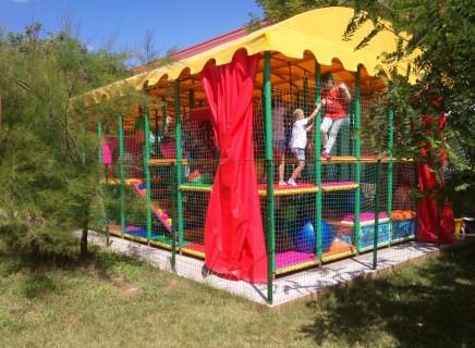 Детский лабиринт  База отдыха  Рось   Затока  Украина  время 11:20  14 июля 2017
